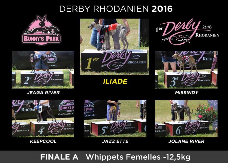 Podiums finale a femelles 12 5kg